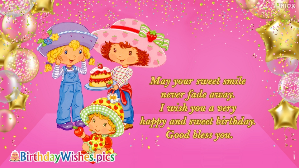 Birthday Wishes Images for Good Bless You