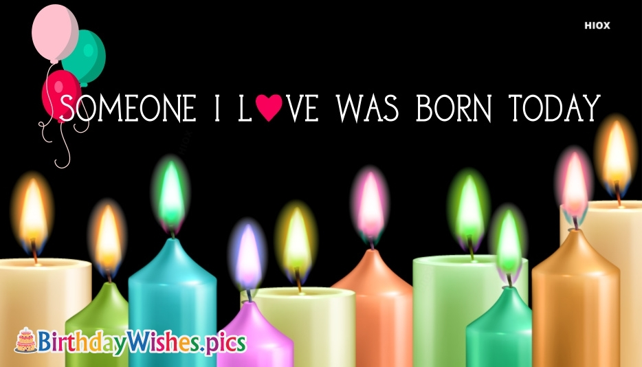 Birthday Wishes For Loved One