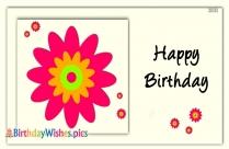 Birthday Flowers Images