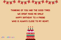 Belated Birthday Wishes Message