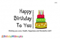 Birthday Wishes Quotes For Friend