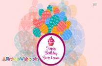 Cousin Birthday Wishes