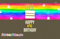 Happy Birthday 1st