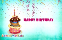 Happy Birthday Cake Images With Quotes