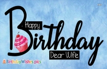 Happy Birthday Dear Wife