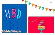 Happy Birthday Dear With Cake
