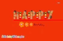 Happy Birthday Greetings Gif