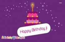 Happy Birthday To Cousin