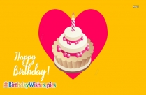 Happy Birthday Images Heart Shape