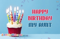 Happy Birthday My Aunt
