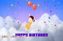 Happy Birthday My Balloon
