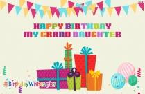Happy Birthday My Grand Daughter