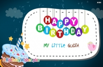 Happy Birthday My Little Gudia