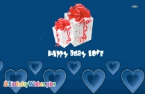Happy Birthday My Love Whatsapp Status