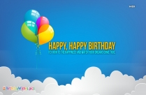 Good Bless You. Happy Birthday Quotes