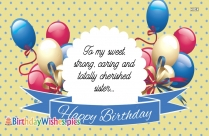 happy birthday sister quotes funny