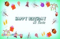 Happy Birthday To Bestie