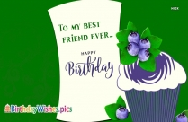 Happy Birthday To Close Friend Quotes