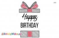 Happy Birthday To Ex Gf