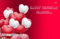 Happy Birthday To Fiancee