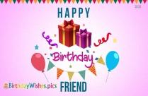 happy birthday dear friend image download