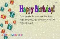 happy birthday wonderful friend pictures