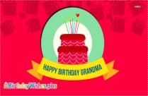 Happy Birthday To Grandmother