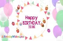 Happy Birthday To Me D.p