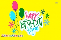 Colorful Birthday Wishes Images