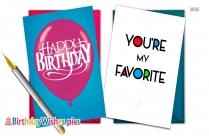 Happy Birthday Dear Wife
