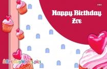 Happy Birthday Zoya