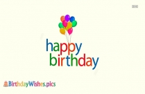 Happy Birthday My Simple