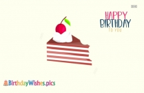 Simple Birthday Cake Images