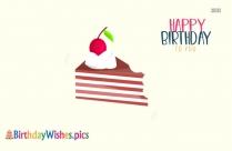 Birthday Wishes Words