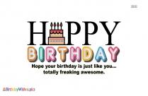 I Wish You Many More Happiest Of Birthdays!