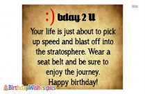 Birthday Wishes Message To The Friend